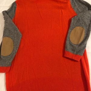 J Crew color block sweater. Size S